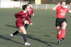 Match des U17F (Groupe Stéphane) VGA Bohars contre Dirinon (17/02/2018) à Bohars. - VGABohars Féminines