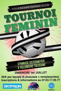 TOURNOI DIMANCHE 1ER JUILLET - Villeneuve