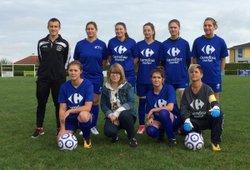 l'équipe Féminine - vouziers