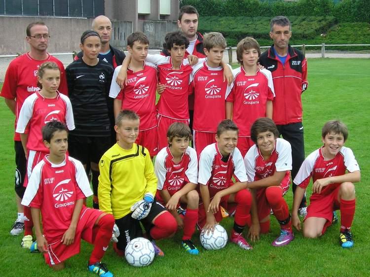 U13 à 9 équipe 1 (nés en 1999-2000)