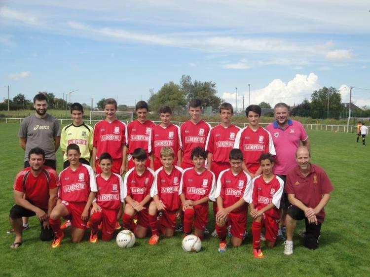 U15 équipe 1 (nés en 2000 - 2001)
