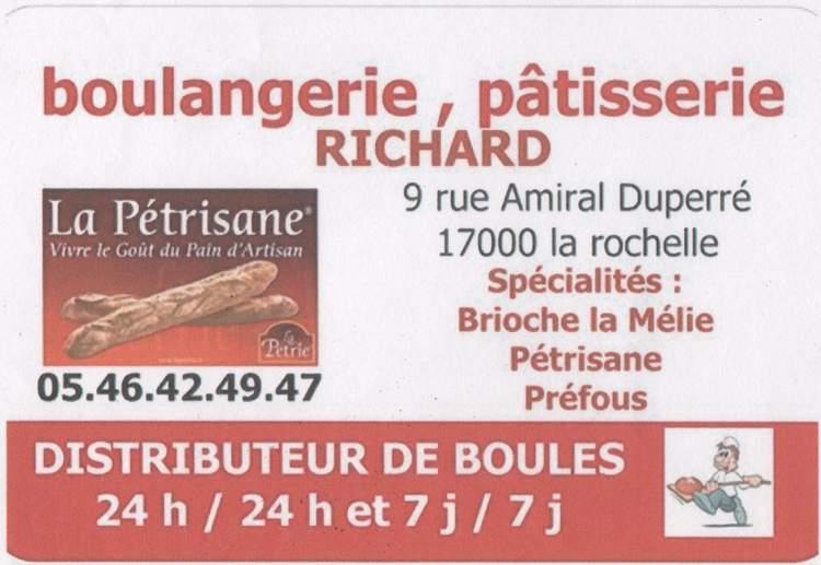 Boulangerie, Patisserie Aurelie et Miguel Richard