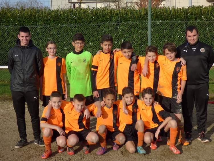 Notre équipe U13 2016