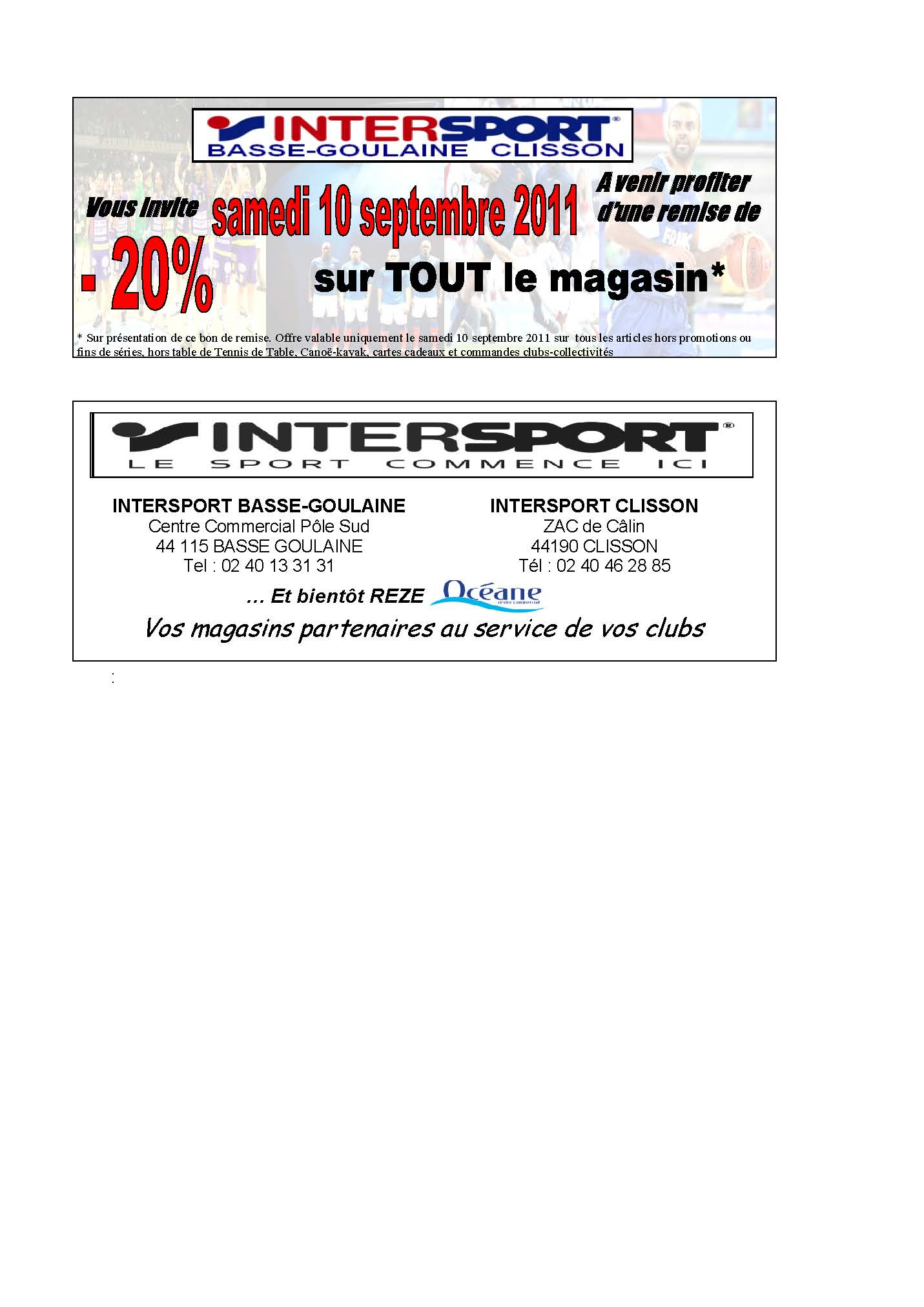 Coupons reductions magasins