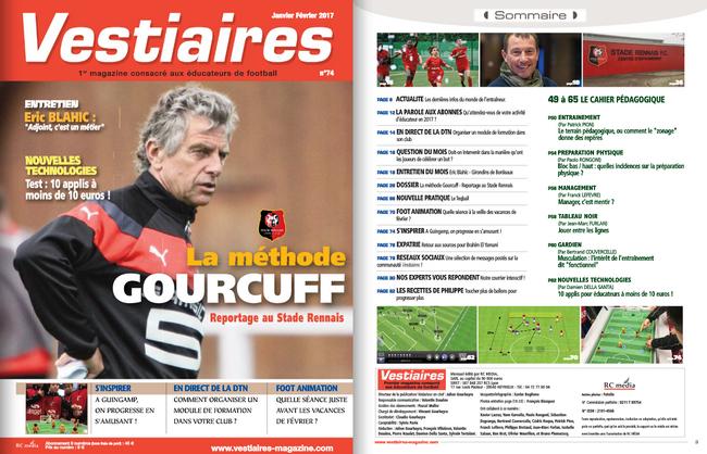 Vestiaires magazine N°74