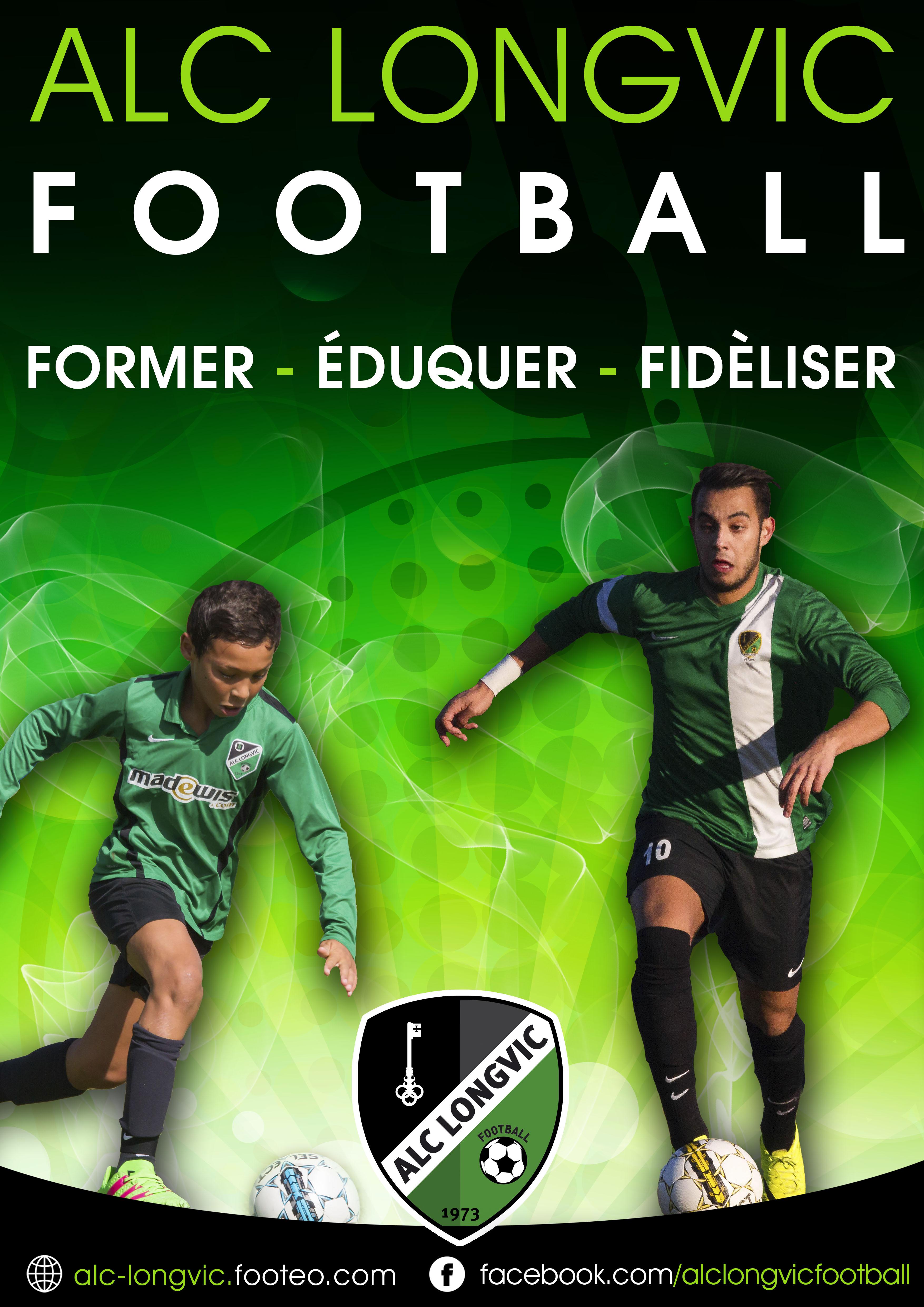 Affiche Projet Club ALC Longvic Football