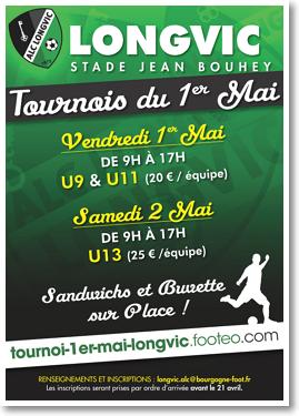 Affiche du Tournoi du 1er Mai 2015
