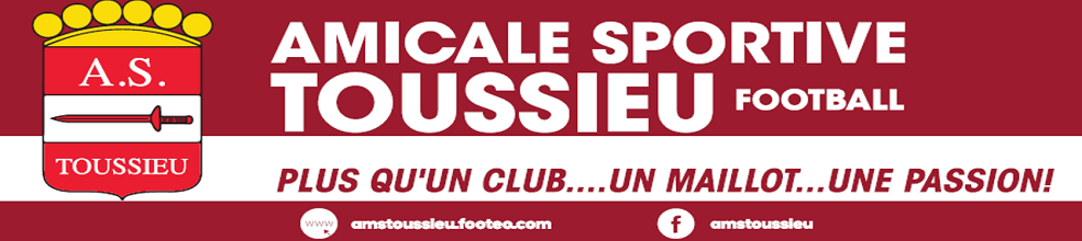 AMICALE SPORTIVE TOUSSIEU : site officiel du club de foot de Toussieu - footeo