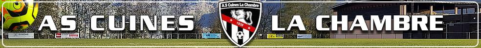 Site Internet officiel du club de football A.S Cuines La Chambre