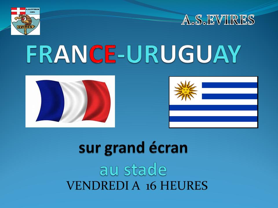 FRANCE -URUGUAY
