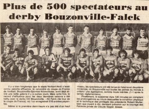 derby Bouzonville - Falck