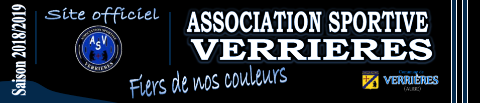 AS VERRIERES : site officiel du club de foot de Verrières - footeo