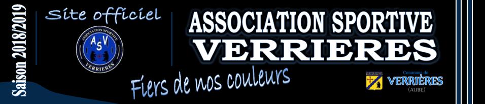 AS VERRIERES : site officiel du club de foot de Verrières - footeo