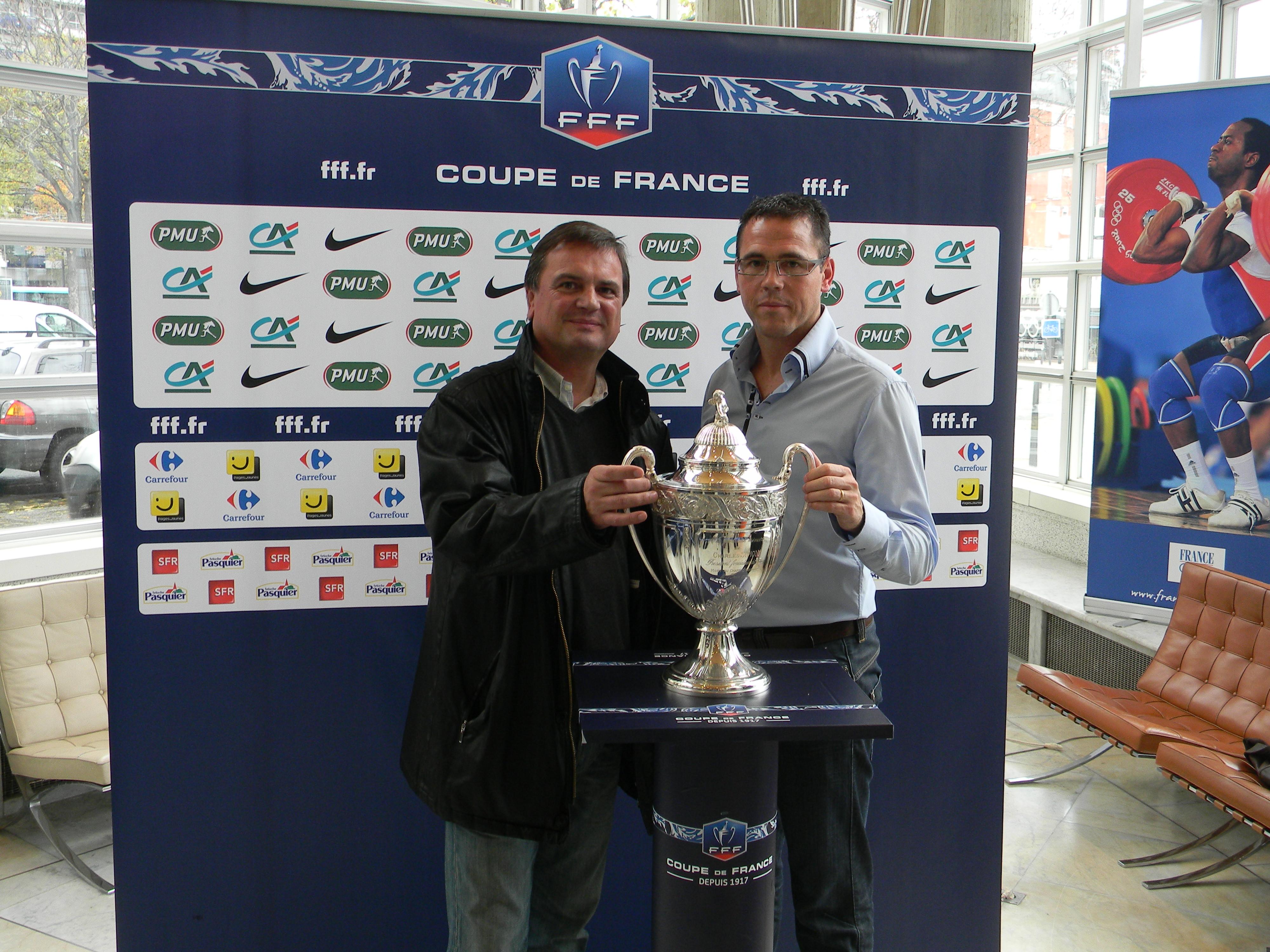 Actualit tirage 7 me tour coupe de france club football as ch taigneraie vend e football - Resultat coupe de france 7eme tour ...