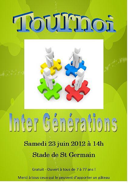 affiche tournoi inter génération