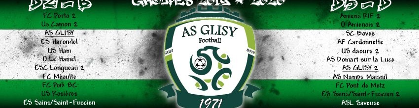 Association Sportive de Glisy : site officiel du club de foot de Glisy - footeo