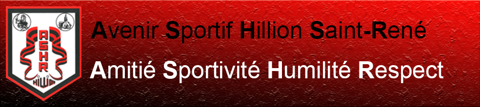 ASHR HILLION : site officiel du club de foot de HILLION - footeo