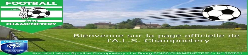Amicale Laique Sportive Champnetery : site officiel du club de foot de CHAMPNETERY - footeo