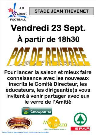 POT DE RENTREE
