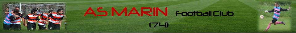 AS Marin 74 : site officiel du club de foot de MARIN - footeo
