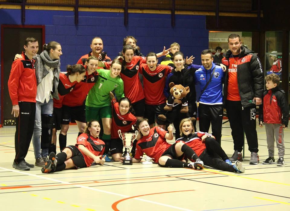 Nos Seniors Féminines Championnes d'Alsace de Futsal l'an passé !!!
