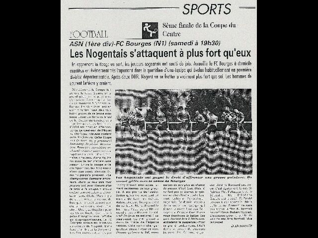 Article coupe du centre