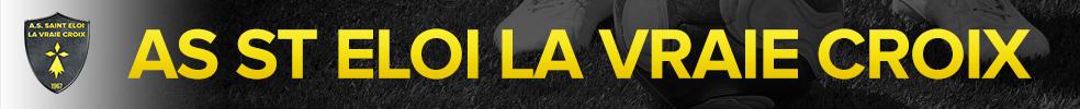 Site Internet officiel du club de football AS ST ELOI LA VRAIE CROIX