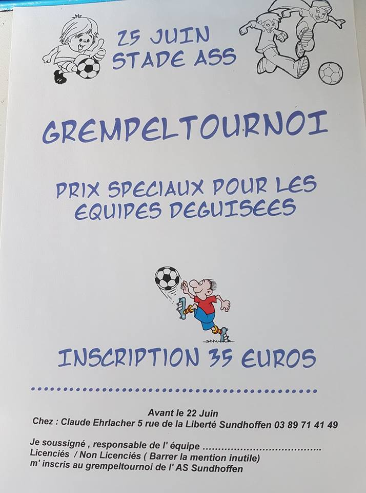 Grempel Tournoi ASS 2017