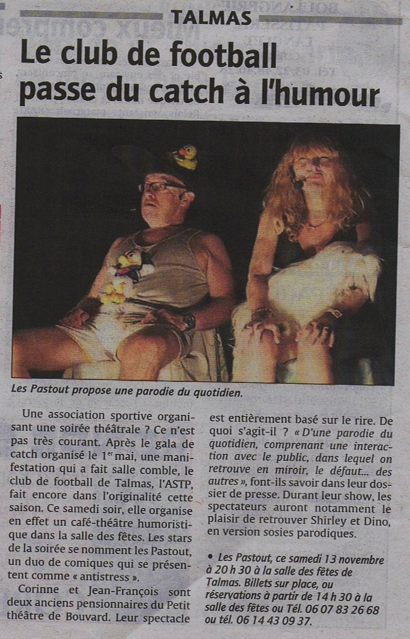 Courrier Picard 13/11/2010