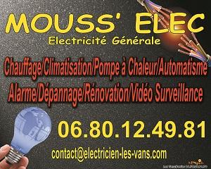 Electricien mouss 39 elec club football a s vanseenne footeo for Garage du midi les vans