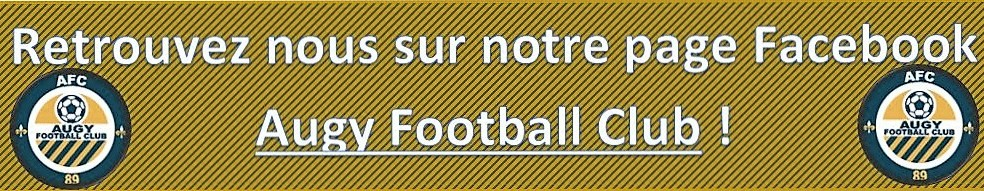 Augy Football Club : site officiel du club de foot de AUGY - footeo