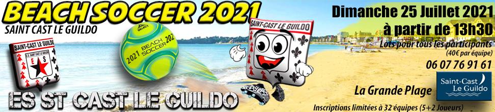 BEACH SOCCER 2017 ST CAST LE GUILDO : site officiel du tournoi de foot de Saint Cast Le Guildo - footeo