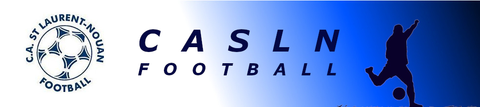Club Athlétique Saint Laurent-Nouan  Football : site officiel du club de foot de ST LAURENT NOUAN - footeo