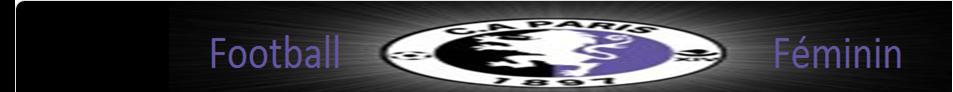 CLUB ATHLETIQUE PARIS : site officiel du club de foot de Paris - footeo