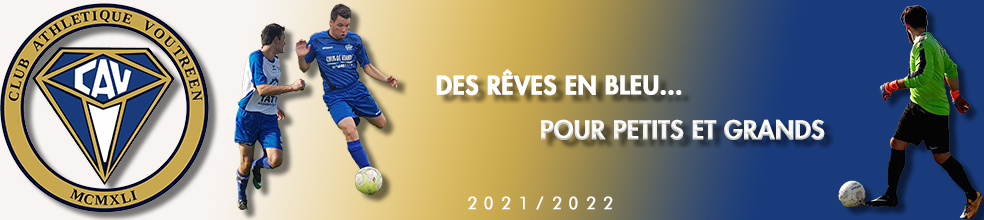 Site Internet officiel du club de football Club Athlétique Voutréen