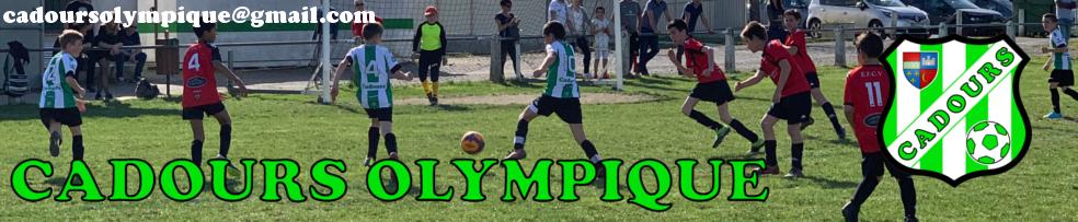Site Internet officiel du club de football CADOURS Olympique