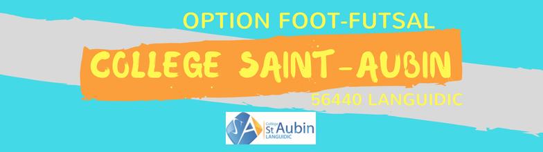 "Collège Saint-Aubin Option ""Foot-Futsal"" Année 2017/2018 : site officiel du club de foot de Languidic - footeo"