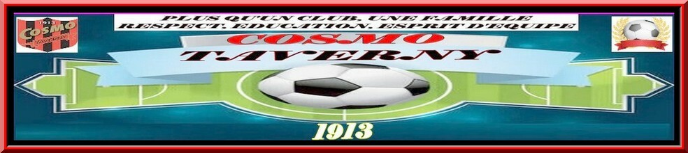 Site Internet officiel du club de football COSMOPOLITAN CLUB DE TAVERNY