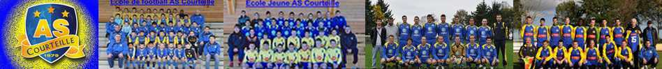 Site Internet officiel du club de football A.S COURTEILLE