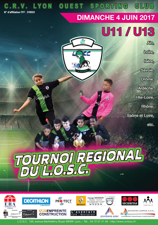 Plaquette du tournoi U11/U13