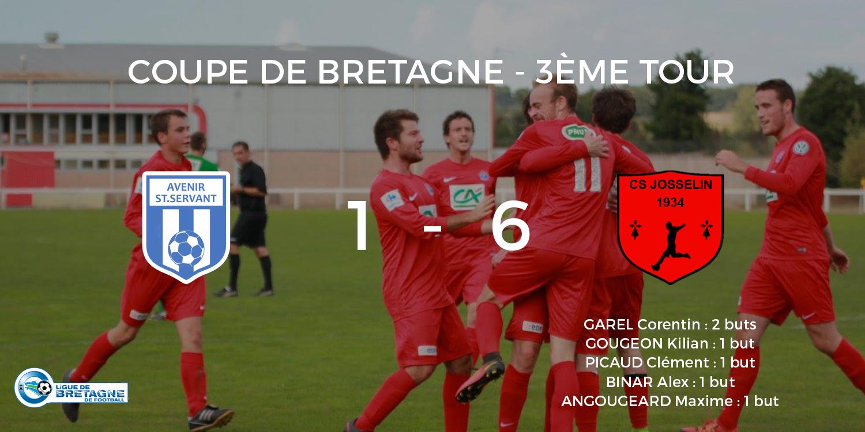 Résultat du match : Avenir Saint Servant Sur Oust - C.S.J.