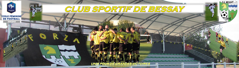 Club Sportif de Bessay : site officiel du club de foot de BESSAY SUR ALLIER - footeo