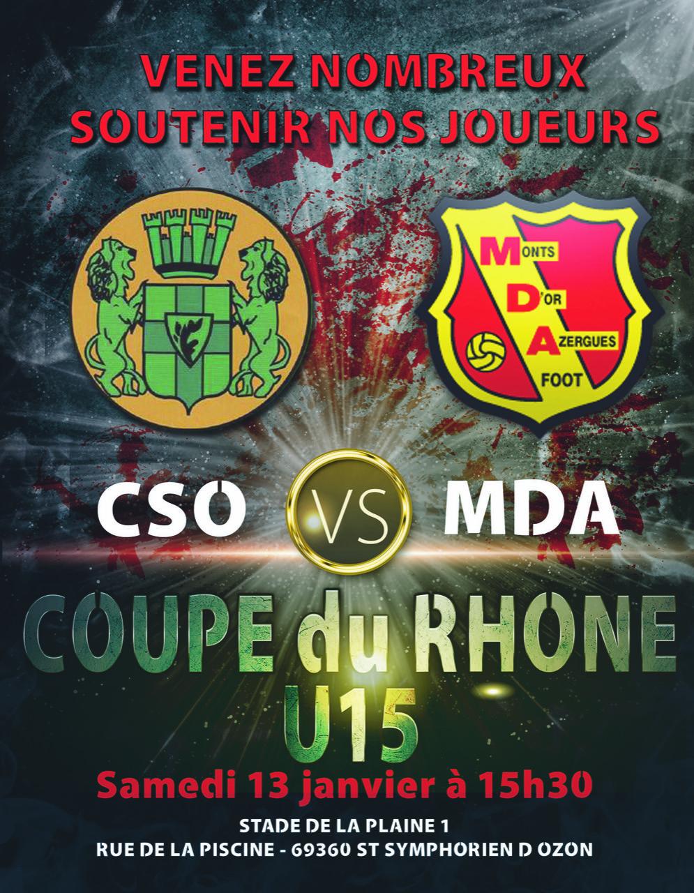 CSO vs MDA_U15