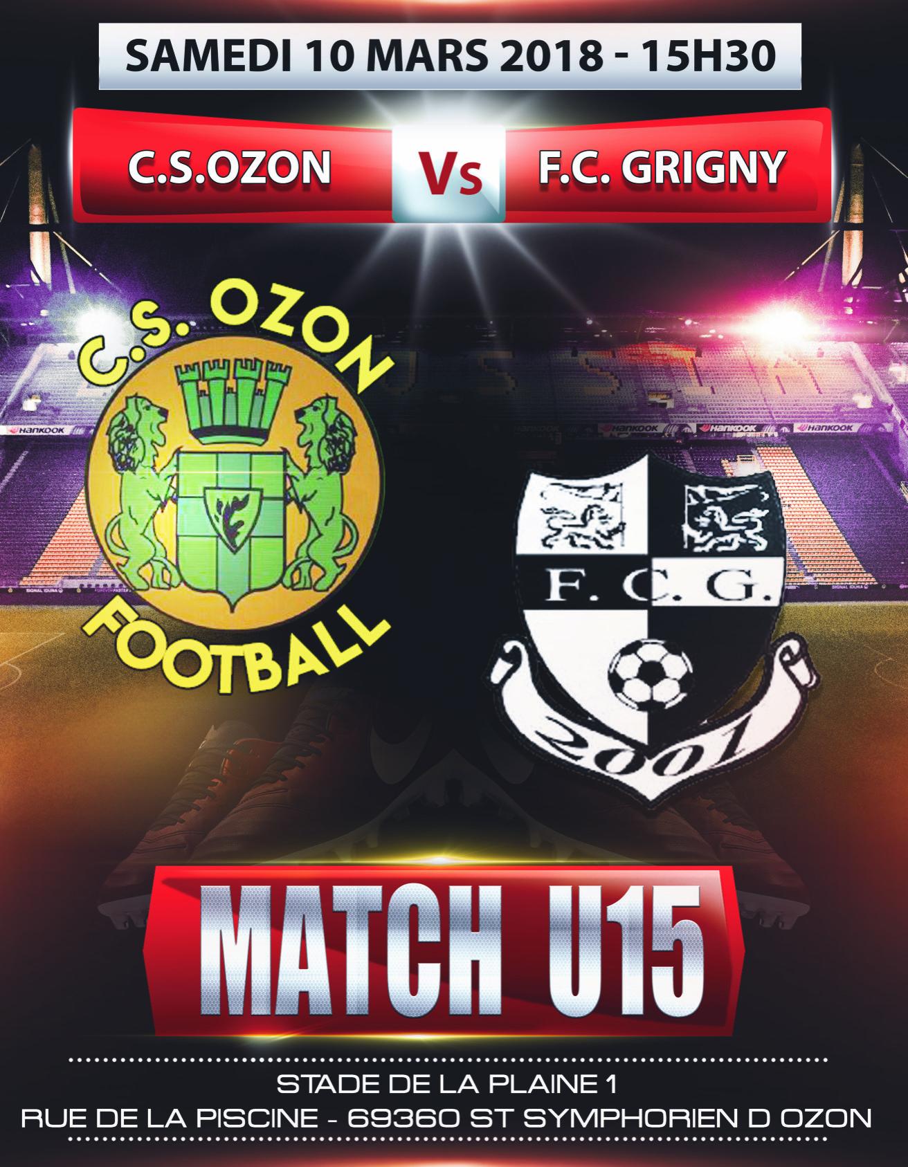CSO - FC Grigny