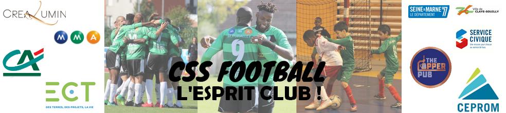 CLAYE-SOUILLY SPORTIF FOOTBALL (C.S.S. FOOTBALL) : site officiel du club de foot de CLAYE SOUILLY - footeo