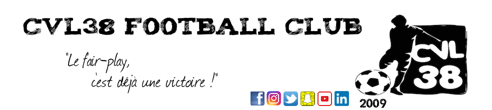 CVL 38 FOOTBALL CLUB : site officiel du club de foot de Saint-Just-Chaleyssin - footeo