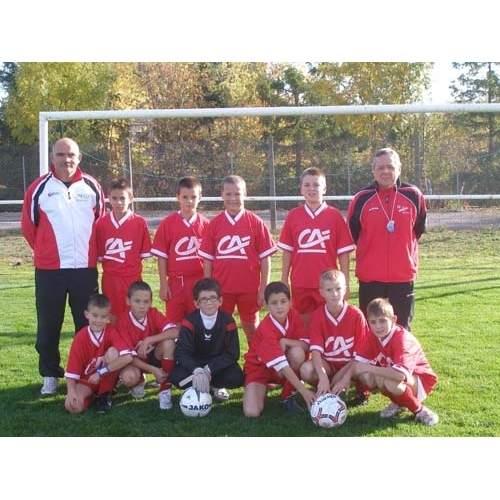 11 ans équipe 2