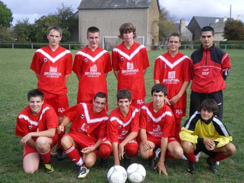 U17 équipe 2 (nés en 1993-94)