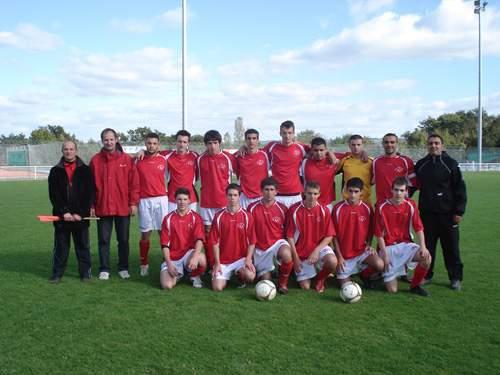 U19 (nés en 1991-92)