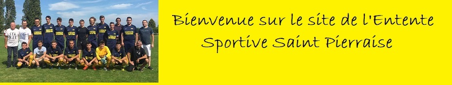 ENTENTE SPORTIVE  SAINT PIERRAISE : site officiel du club de foot de ST PIERRE DE PLESGUEN - footeo